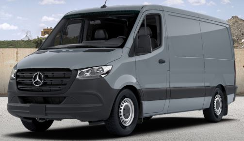 blue grey 2019 Mercedes-Benz Sprinter Cargo Van