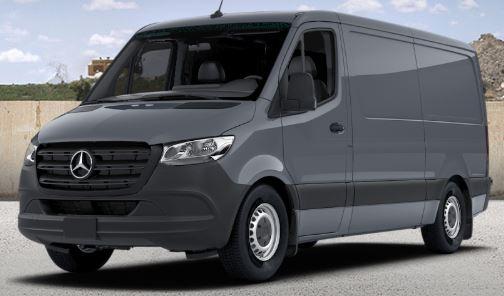 graphite grey 2019 Mercedes-Benz Sprinter Cargo Van