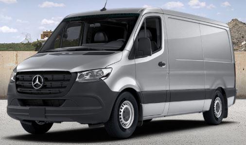 silver 2019 Mercedes-Benz Sprinter Cargo Van