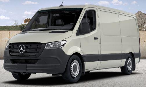 pebble grey 2019 Mercedes-Benz Sprinter Cargo Van