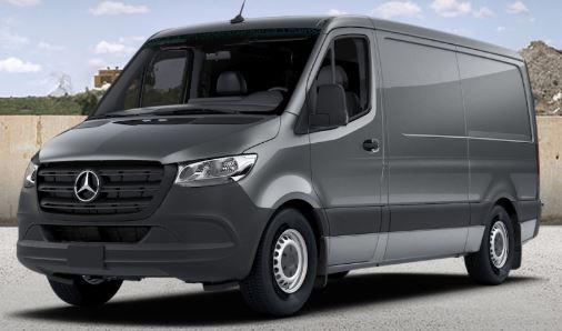 selenite grey 2019 Mercedes-Benz Sprinter Cargo Van