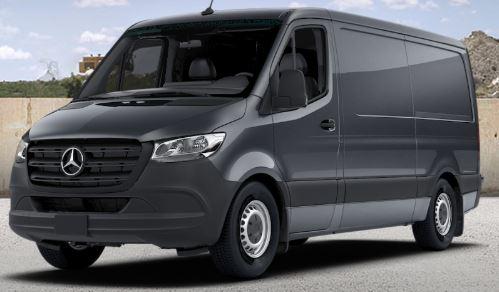 tenorite grey 2019 Mercedes-Benz Sprinter Cargo Van