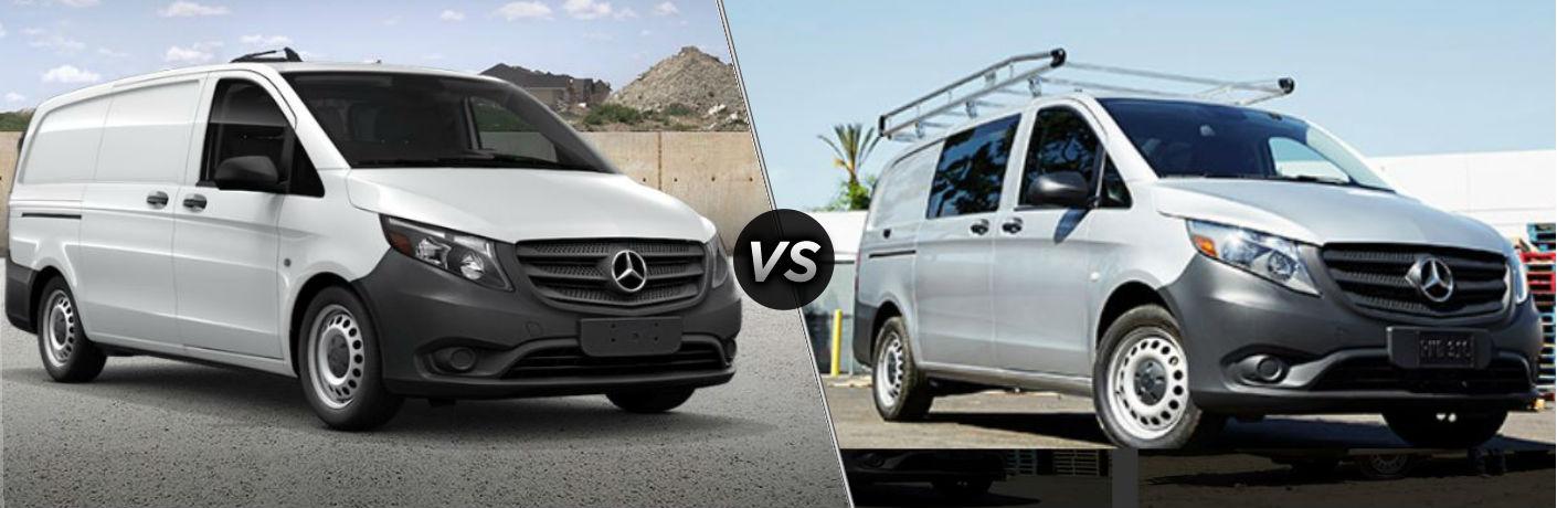 2020 Mercedes-Benz Metris WORKER Cargo Van vs 2020 Mercedes-Benz Metris Cargo Van