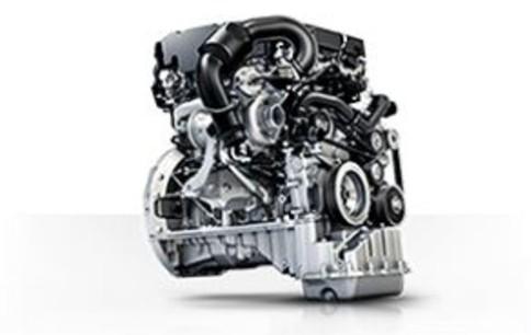 Mercedes-Benz Metris cargo van engine