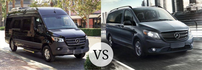 2020 Mercedes-Benz Sprinter Passenger Van vs 2020 Mercedes-Benz Metris Passenger Van