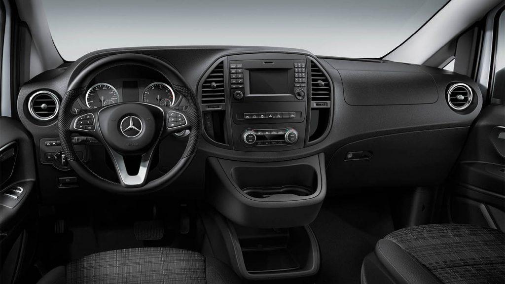 2020 Mercedes-Benz Metris Worker van front seats
