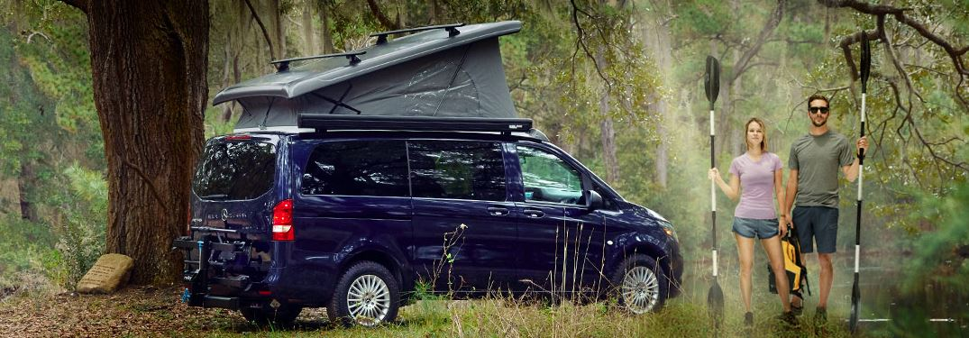 Are Mercedes-Benz Metris Vans made for camping?