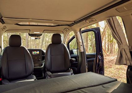 Mercedes-Benz Metris Camper Van interior