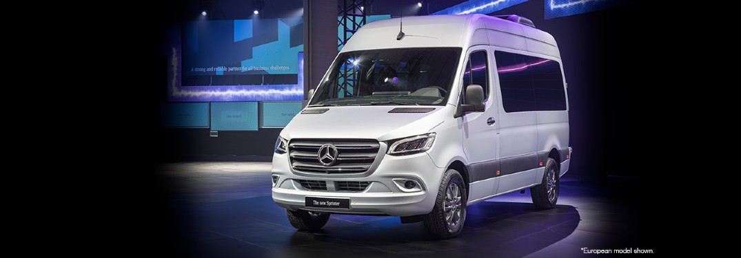 2018 Mercedes-Benz Sprinter van front view