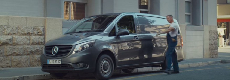 2020 Mercedes-Benz Vito van side view