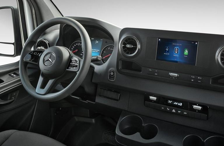 2020 Mercedes-Benz Sprinter steering wheel