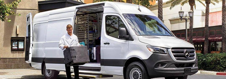 2021 Mercedes-Benz Sprinter Cargo Van Exterior Color Options