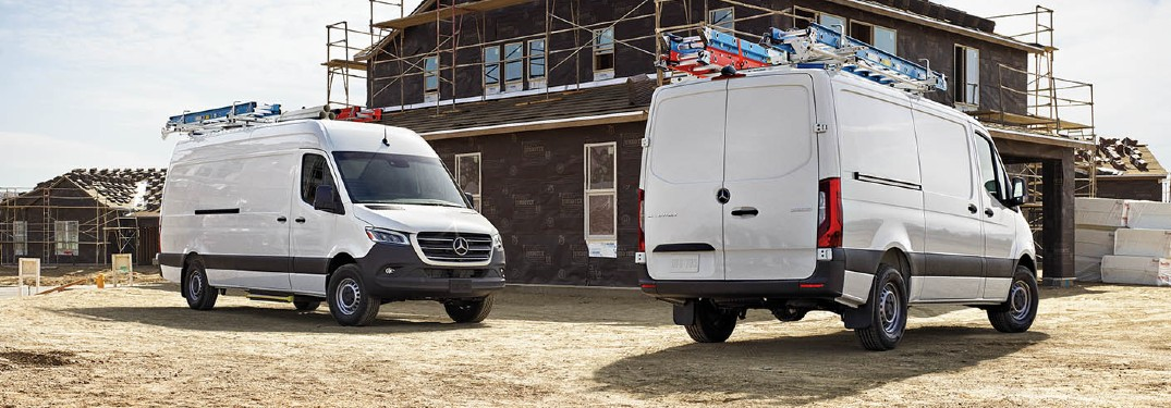 Which color should my Sprinter van be for easy cleaning?