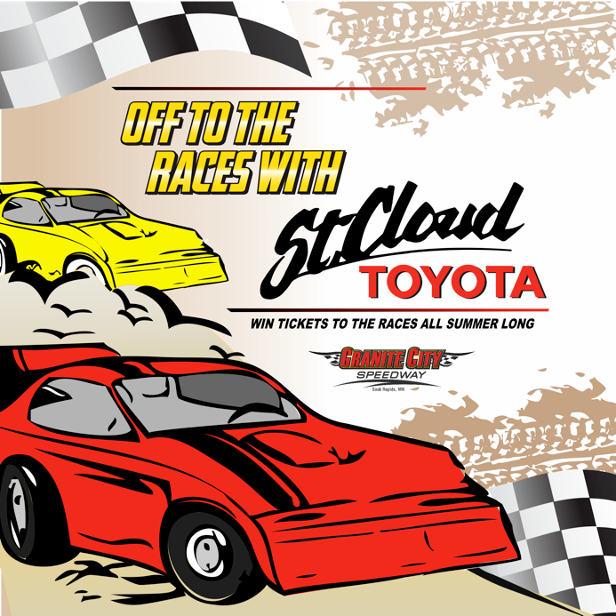 Off to the Races with St. Cloud Toyota - St. Cloud Toyota