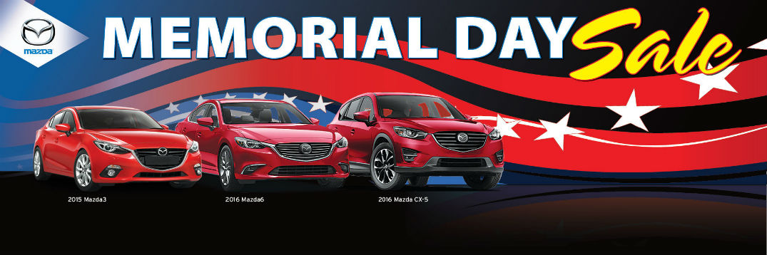 Holiday Mazda Memorial Day Sale 2015
