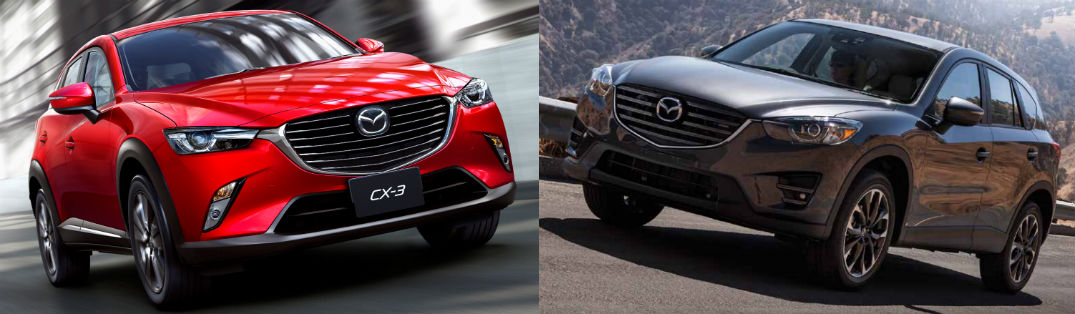Compare: Mazda CX-3 vs Mazda CX-5