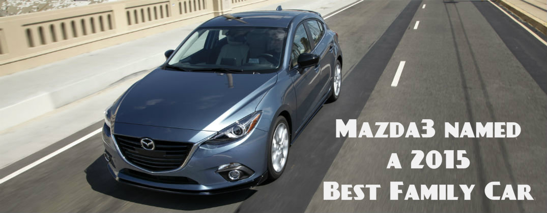 Mazda3 named Best Budget Family Car