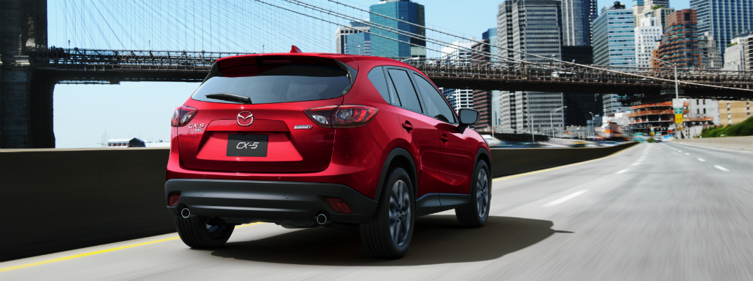 Best Features in the 2016 Mazda CX-5