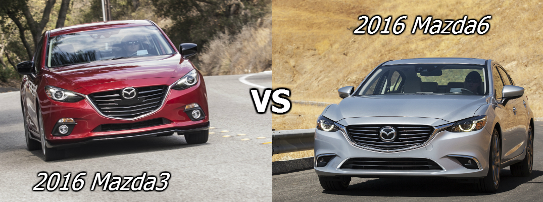 Mazda 3 Vs 6 >> Difference Between The 2016 Mazda3 And 2016 Mazda6