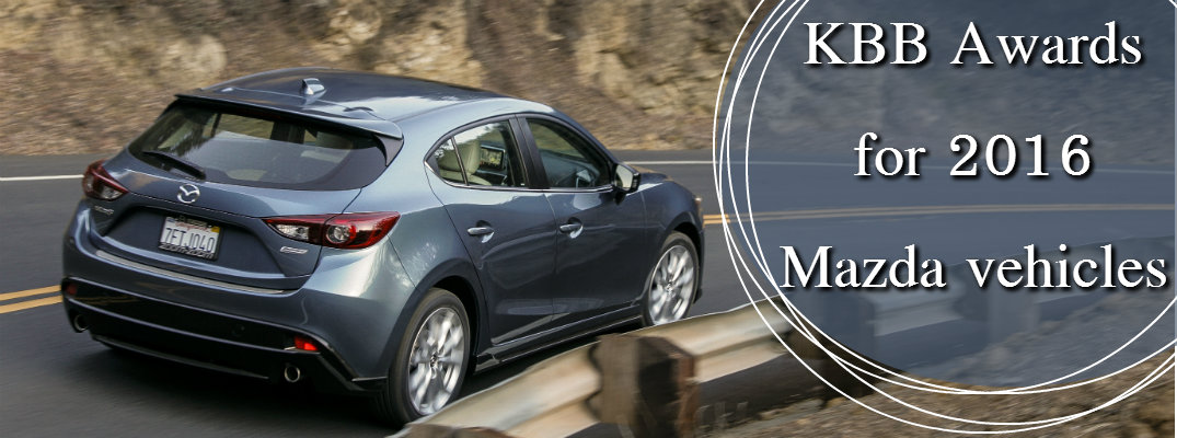 2016 Mazda Kelley Blue Book Awards