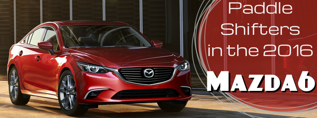Does the 2016 Mazda6 have Paddle Shifters?