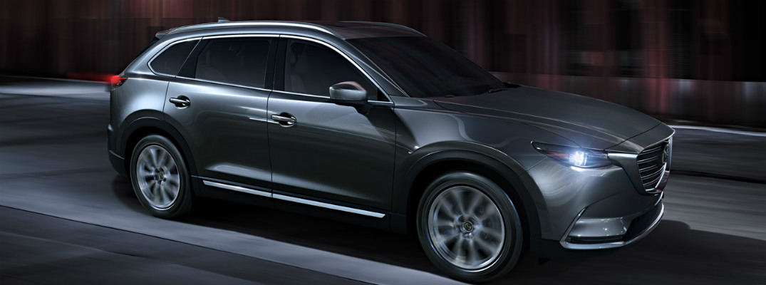 What headlights come in the 2016 Mazda CX-9?
