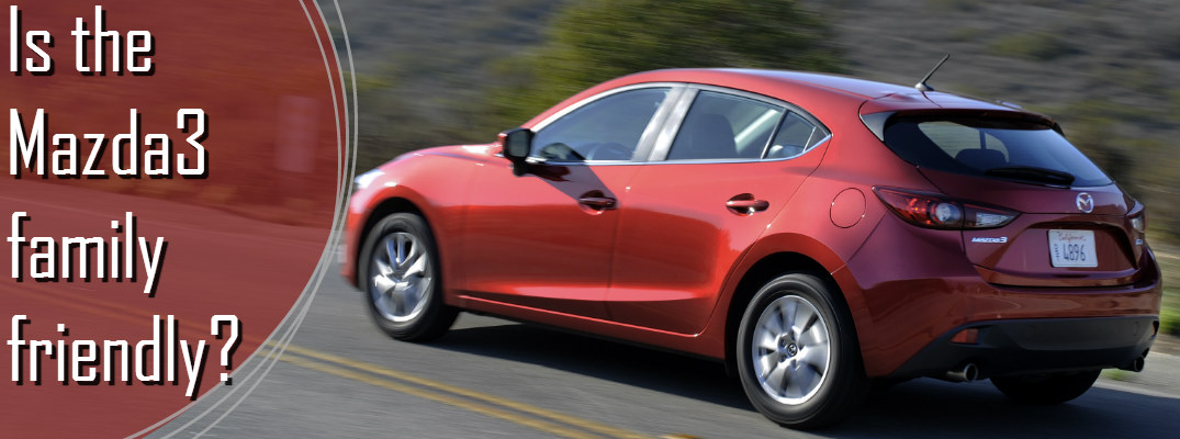 Which Mazda vehicles are good for a family?
