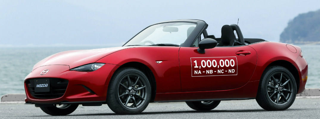 Mazda gives dates for Millionth Miata Tour in the US