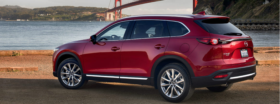 Color choices in the 2016 Mazda CX-9