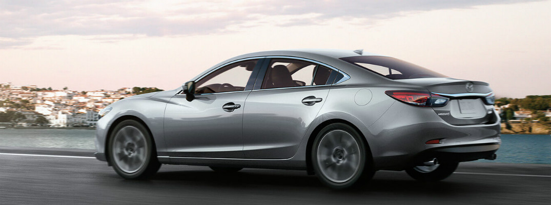 What engine does the 2016 Mazda6 have?