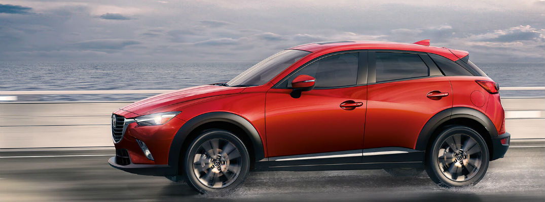 What colors does the 2017 Mazda CX-3 come in?
