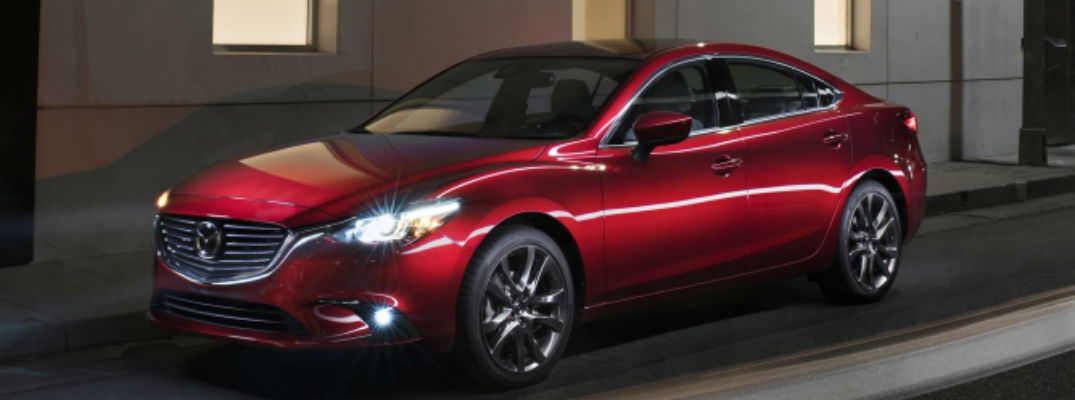 What colors are available for the 2017 Mazda6?