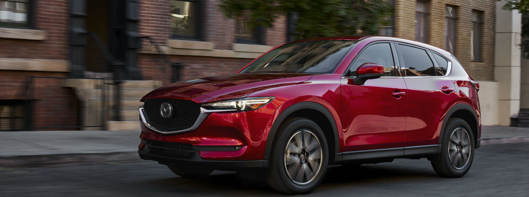 First look at the all-new 2017 Mazda CX-5