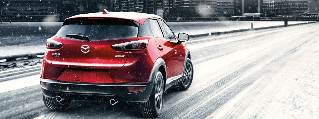 Which Mazda vehicles have AWD?