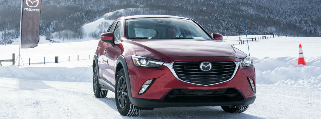 What Safety Features are available in the 2017 Mazda CX-3?