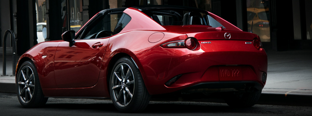 2017 Mazda MX-5 Miata RF Paint Color Options