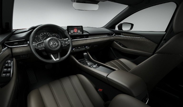 2018 Mazda6 Nappa leather Signature interior in brown