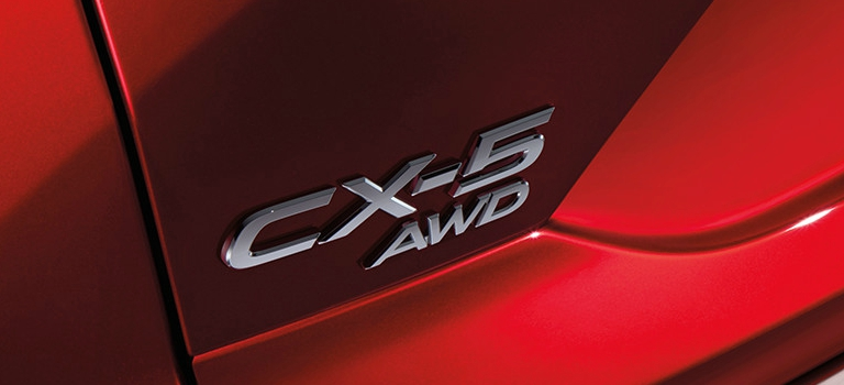 2018 Mazda CX-5 with AWD badging