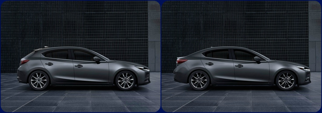 5 Door Car >> Difference Between The 4 Door And 5 Door Mazda3