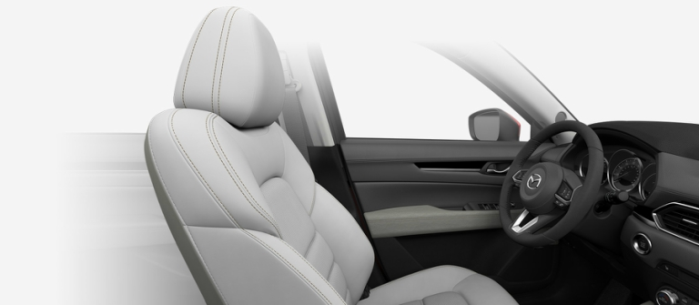 2018 Mazda CX-5 Parchment leather seat