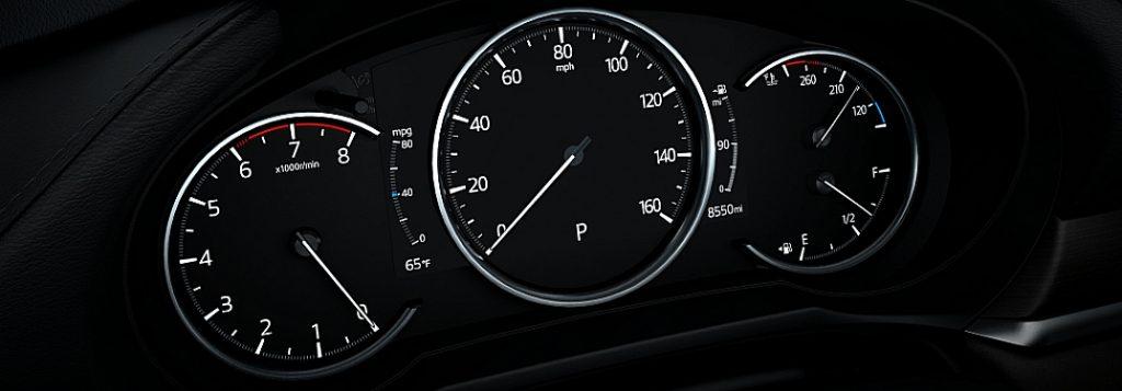 Mazda dashboard warning light meanings