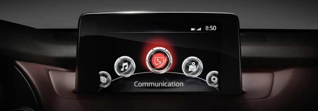 2018 Mazda CX-9 infotainment screen