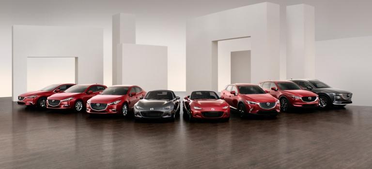 2018 Mazda vehicle lineup