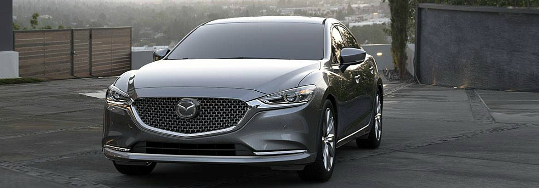 2018 Mazda6 front view in gray