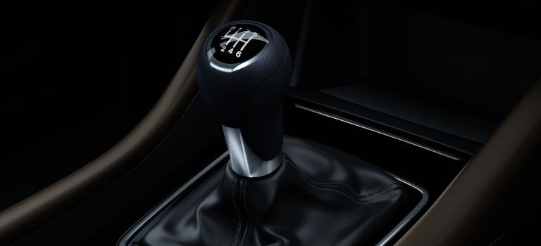 2018 Mazda6 manual 6-speed transmission lever