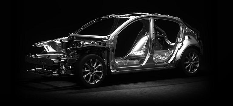 Mazda SKYACTIV® TECHNOLOGY frame design