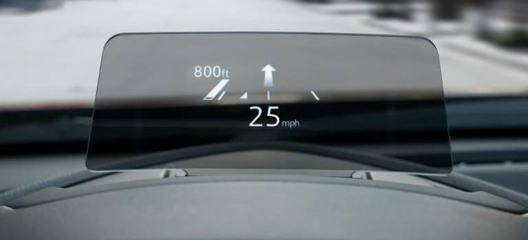2019 Mazda CX-3 active driving display
