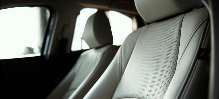 2019 Mazda CX-3 tan leather seats