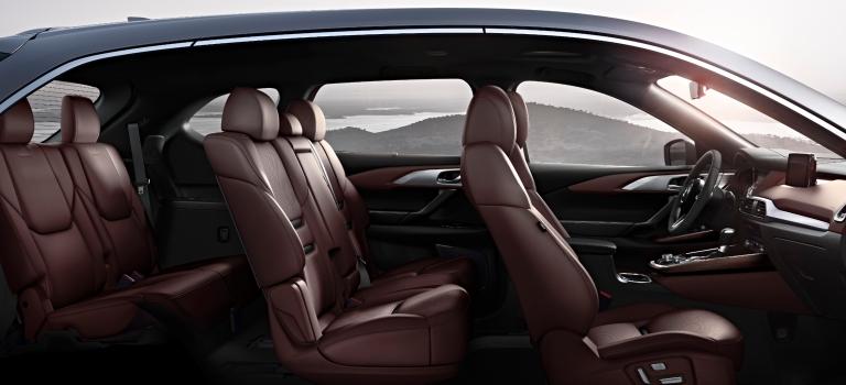 2019 Mazda CX 5 Interior Auburn Leather Side View