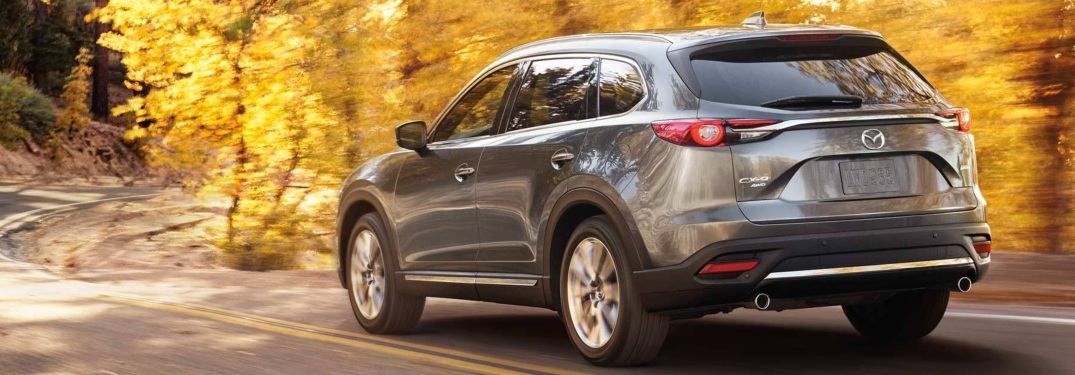 2019 Mazda CX-9 back view